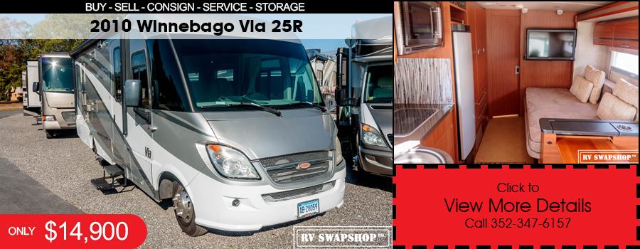 2010 Winnebago Via 25R for sale at rvswapshop.com