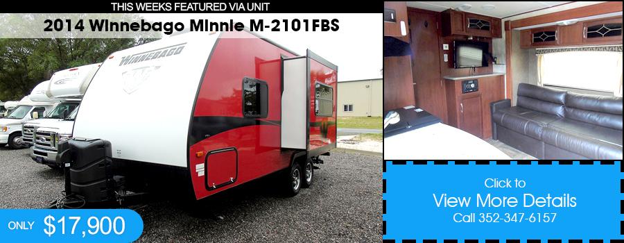 2014 Winnebago Minnie M-2101FBS for Sale
