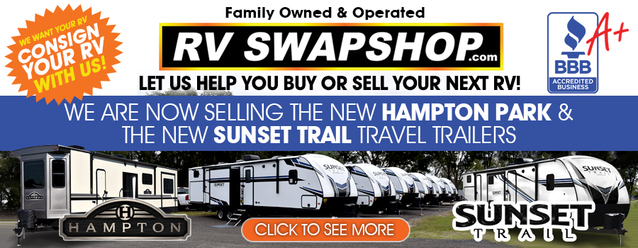Used RVs for Sale - RV Swapshop Family Owned & Operated